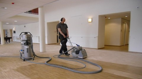 Restauration de planchers